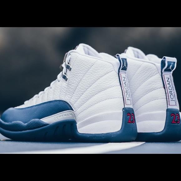 """3c25049768ab Air Jordan Retro 12 """"French Blues""""🔥🔥🔥🔥🔥"""